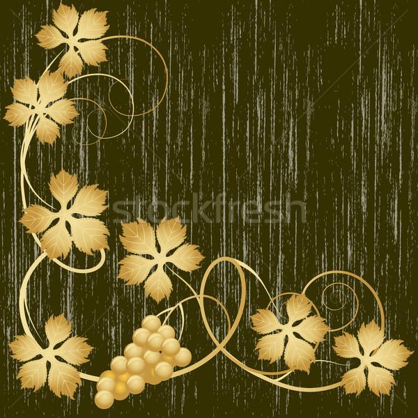 Gold grapevine Stock photo © ElenaShow
