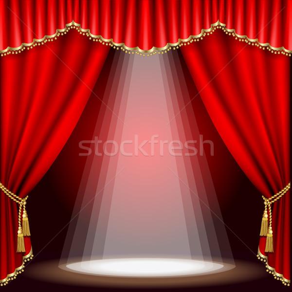 Theater stage. Mesh.  Stock photo © ElenaShow