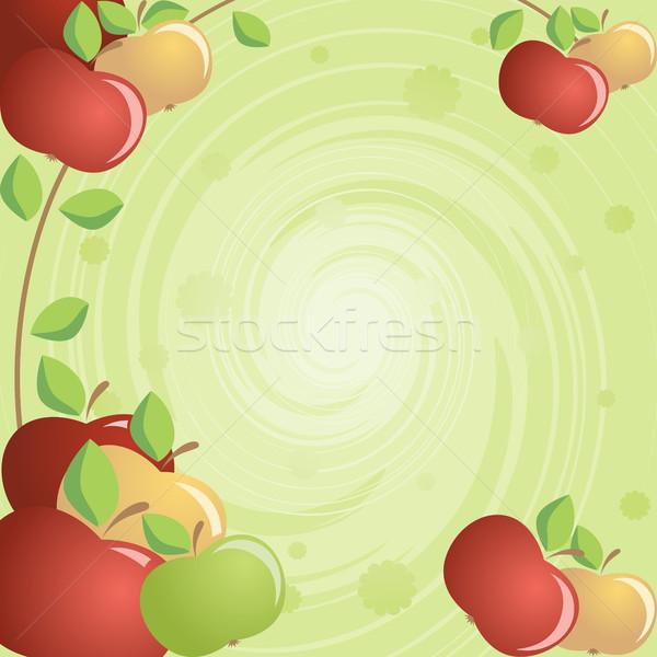 Apples Stock photo © ElenaShow