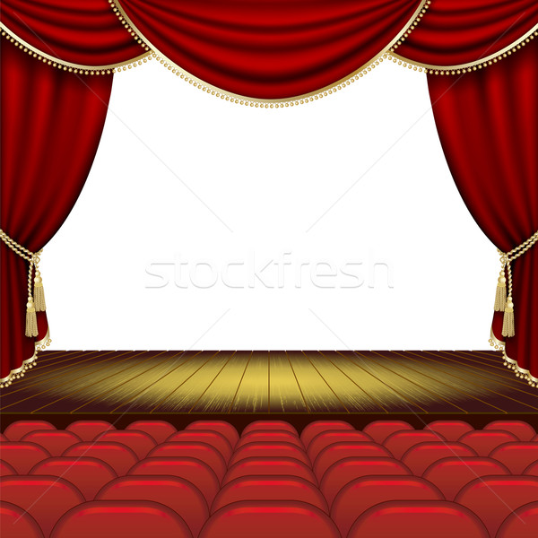 Theater stage Stock photo © ElenaShow