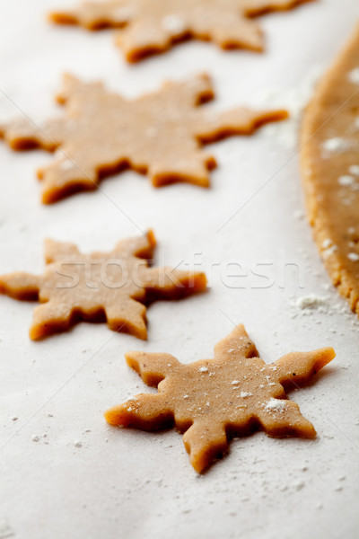 пряничный Cookies Рождества звездой Сток-фото © ElinaManninen