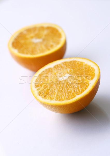 Kettő narancs fény felület lédús finom Stock fotó © ElinaManninen