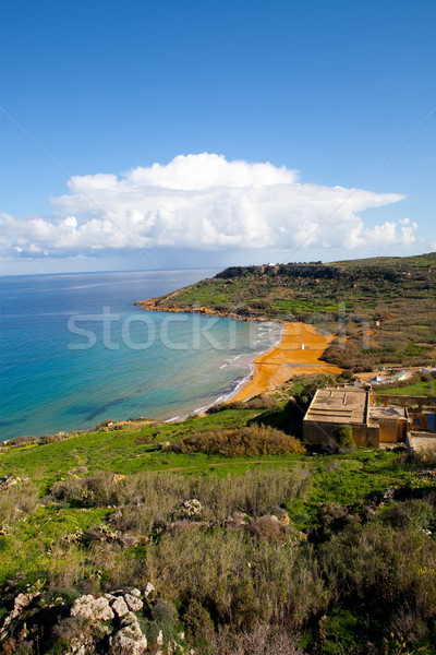 Ramla Bay, Gozo Island Stock photo © ElinaManninen