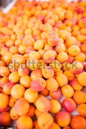 érett friss finom háttér narancs csoport Stock fotó © ElinaManninen