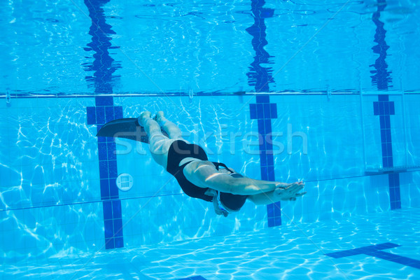 Freediver Stock photo © ElinaManninen