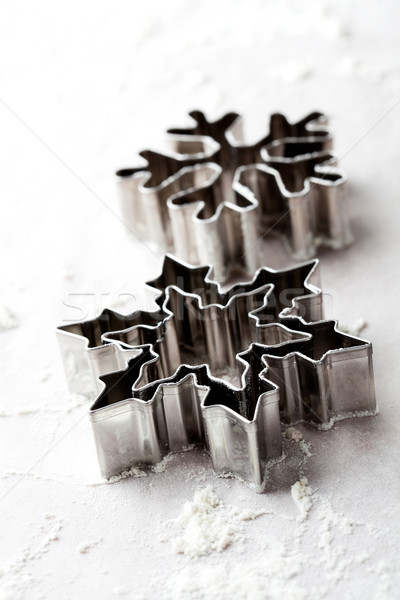 Gingerbread cutters Stock photo © ElinaManninen