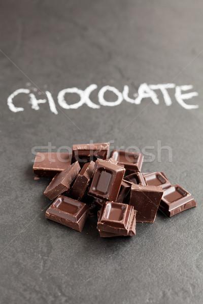 шоколадом слово написанный Сток-фото © ElinaManninen