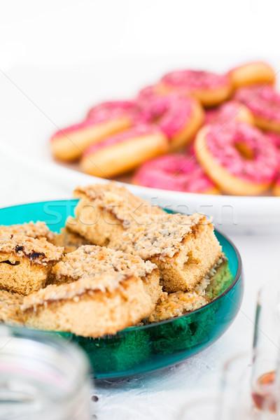 Plastry wyschnięcia ciasto szkła Zdjęcia stock © ElinaManninen