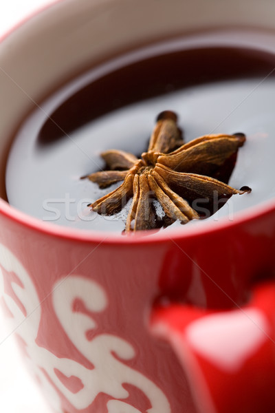 Christmas glogg with aniseed Stock photo © ElinaManninen
