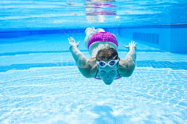 Underwater in pool Stock photo © ElinaManninen