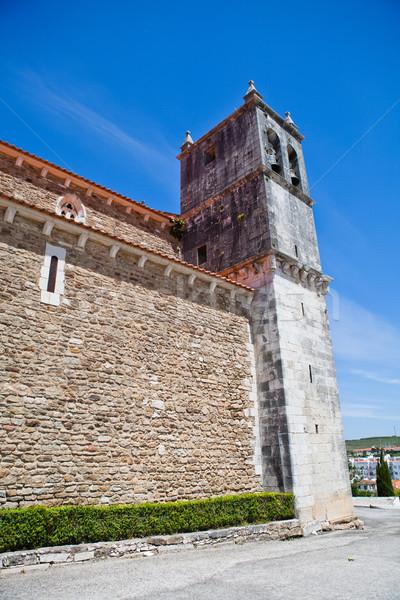 Kerk Lissabon wijk Portugal gebouw Stockfoto © ElinaManninen