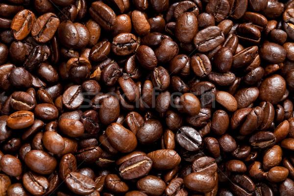 Kahve çekirdekleri kahve çekirdeği espresso fasulye Stok fotoğraf © ElinaManninen