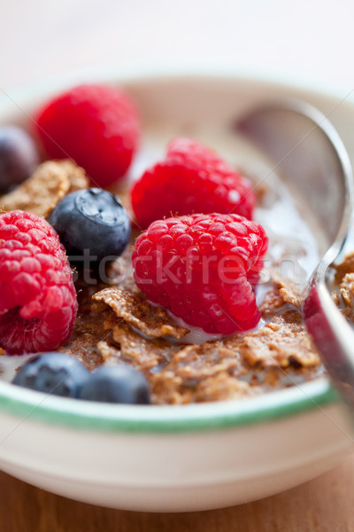 Breakfast cereal with berries Stock photo © ElinaManninen