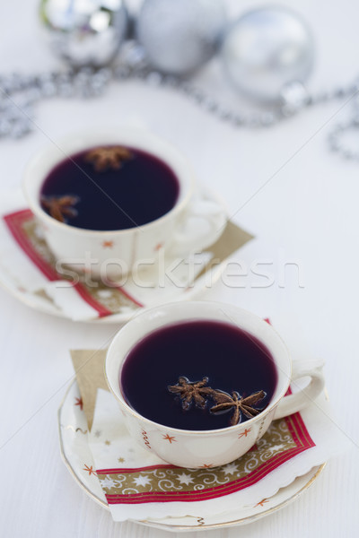 Mulled wine for Christmas Stock photo © ElinaManninen