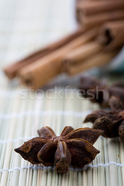 Aniseed and cinnamon. Stock photo © ElinaManninen