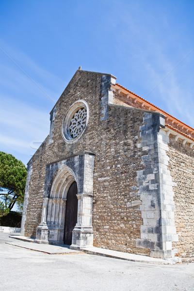 Church of Santa Maria in Lourinha Stock photo © ElinaManninen