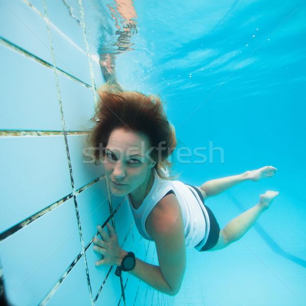 Underwater in a pool Stock photo © ElinaManninen