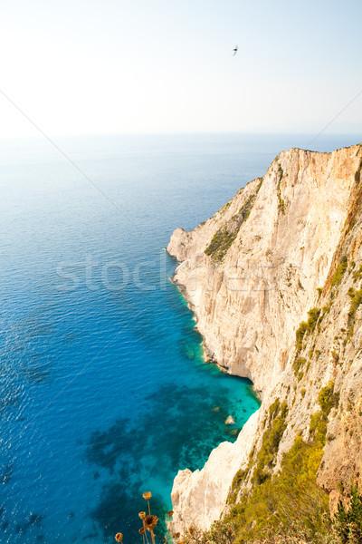 美しい 海岸線 ギリシャ ターコイズ 水 ザキントス ストックフォト © ElinaManninen