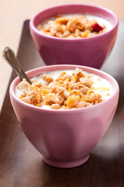Breakfast cereal Stock photo © ElinaManninen