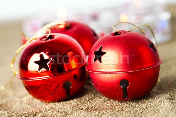 Christmas baubles Stock photo © ElinaManninen