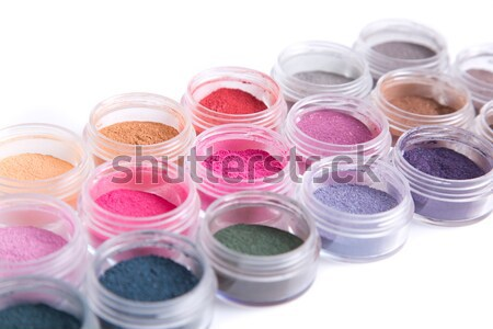 Vibrant mineral eyeshadows  Stock photo © Elisanth