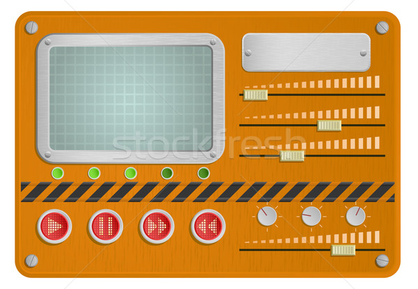 Industrial skin for player Stock photo © Elisanth