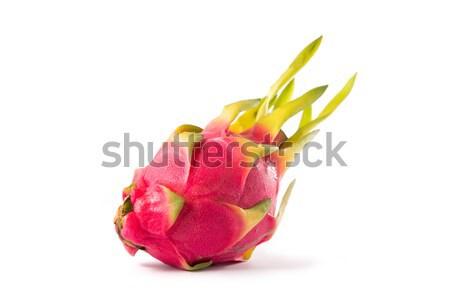 Fresh exotic dragon fruit  Stock photo © Elisanth