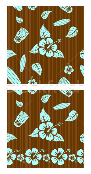 Vector seamless patterns  Stock photo © Elisanth