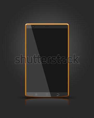 вектора мобильных общий телефон дизайна Сток-фото © Elisanth