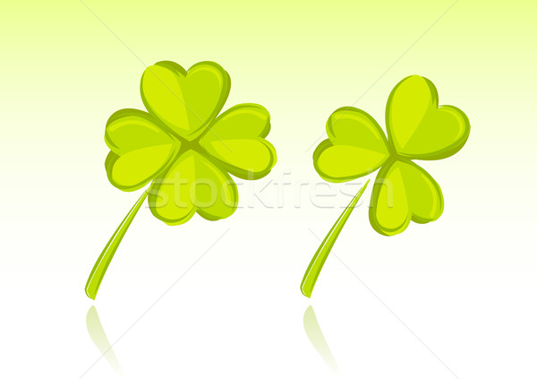 Vector illustration of clover  Stock photo © Elisanth