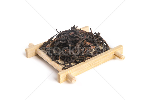 Honey Orchid Oolong on bamboo serving tray Stock photo © Elisanth