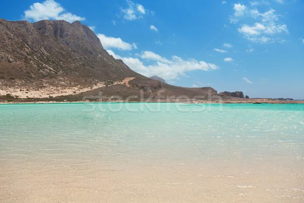 тропические прозрачный воды острове Греция Сток-фото © Elisanth