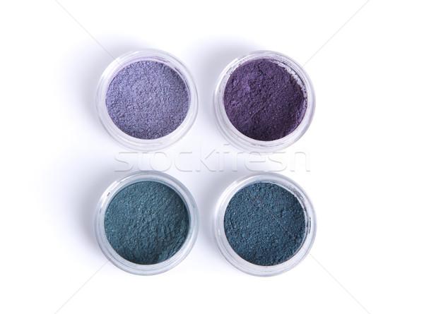 Foto stock: Mineral · ojo · oscuridad · pastel · colores · superior