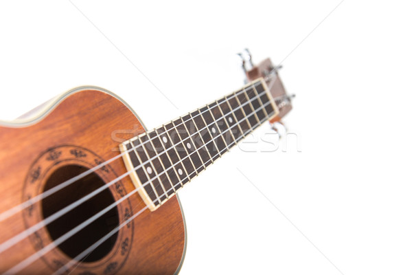 Close-up shot of ukulele guitar  Stock photo © Elisanth