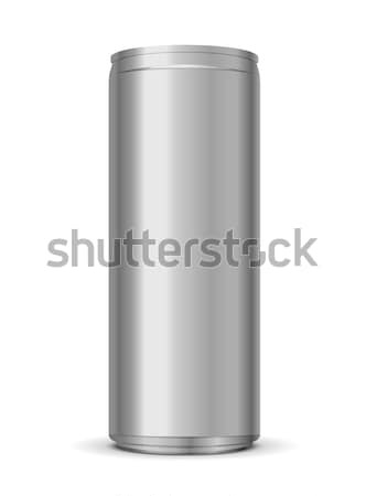 Energiaital konzerv izolált fehér absztrakt szín Stock fotó © Elisanth