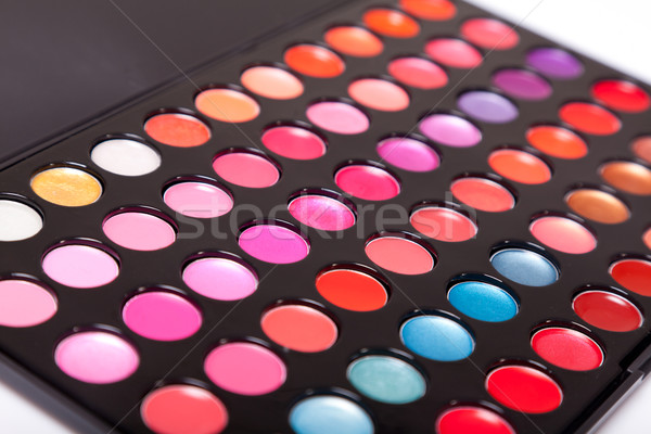 Close-up shot of lip gloss palette  Stock photo © Elisanth