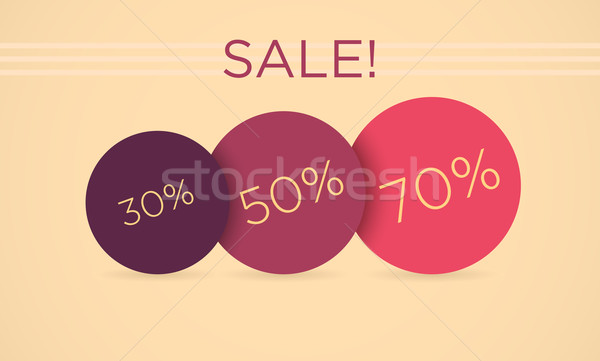 Сток-фото: вектора · продажи · 30 · процент · скидка