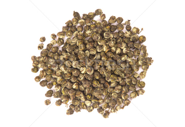 Top view of Oolong leaves rolled into balls  Stock photo © Elisanth