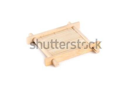 небольшой бамбук лоток чай церемония Сток-фото © Elisanth