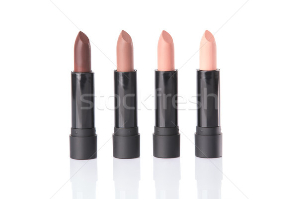 Four lipsticks in matching colors  Stock photo © Elisanth