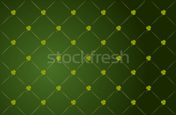 вектора клевера зеленый весны аннотация фон Сток-фото © Elisanth