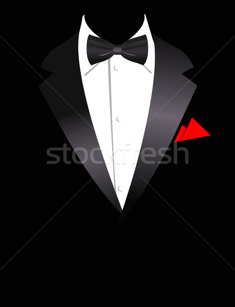Stock photo: Vector illustration of elegant suit