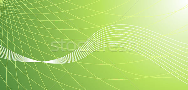 Vector abstract green hi-tech background Stock photo © Elisanth