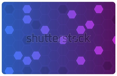 Vector abstract hi-tech background  Stock photo © Elisanth