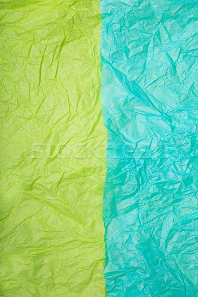 Two colorful wrinkled paper textures  Stock photo © Elisanth