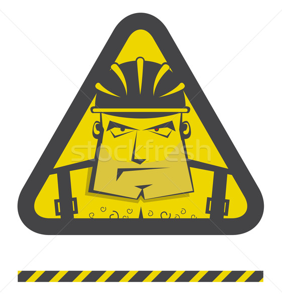 Vector under construction icon for internet site  Stock photo © Elisanth