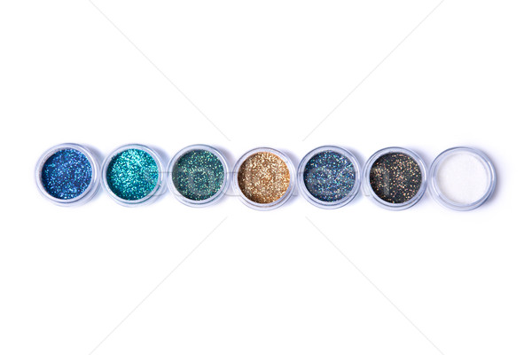 Set of bright glitters in jars   Stock photo © Elisanth