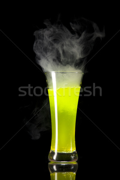 Yellow radioactive alcohol  Stock photo © Elisanth