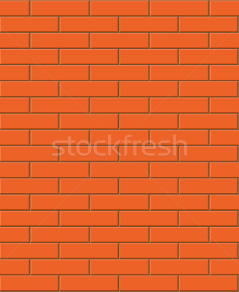 Vector seamless brick texture  Stock photo © Elisanth