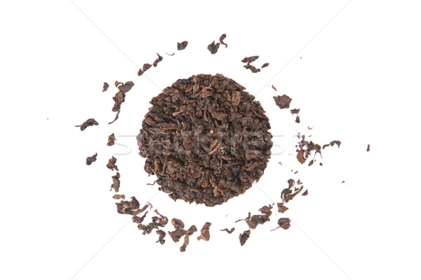 High angle view of roasted Tieguanyin, variety of Oolong tea  Stock photo © Elisanth